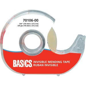Basics® Invisible Mending Tape 3/4 (19 mm x 21.5 m)