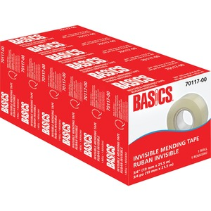 "Basics® Invisible Mending Tape Refill 3/4"" (19 mm x 25.4 m)"