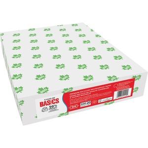 Basics® Premium Recycled Multipurpose Paper 94B 20lb Letter 500/pkg