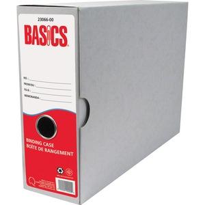 Basics® Recycled Binding Cases Letter 6/pkg