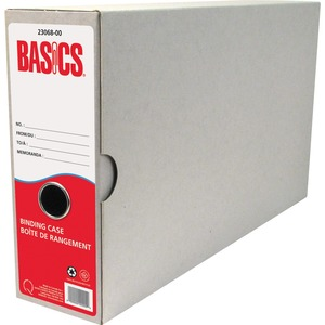 Basics® Recycled Binding Cases Legal 6/pkg