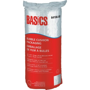 "Basics® Bubble Cushion Packaging 12"" x 15' Roll"
