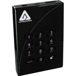 2tb Padlock Pro Secure ESATA USB Interface 256bit Aes TAA Co / Mfr. No.: A25-Ple256-2000