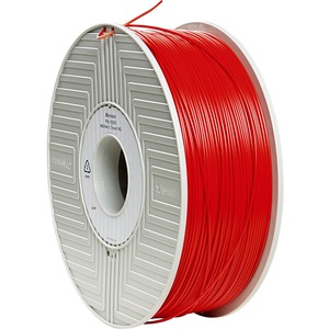 Abs Filament Red 1.75mm 1kg For Makerbot 3d Printers Mp0197 / Mfr. No.: 55003