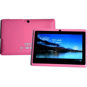 7inch Android 4.4 Bluetooth 4gb Dual Core Dual Camera Wireless / Mfr. No.: Wfg-7drkbt-Pink