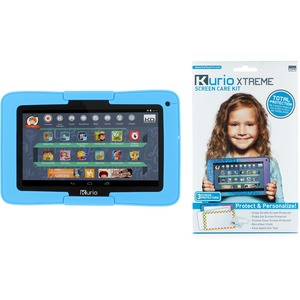Kit Kurio Xtreme 7in Android Tab W/ Blue Bumper Screen Care / Mfr. No.: 96405-96447