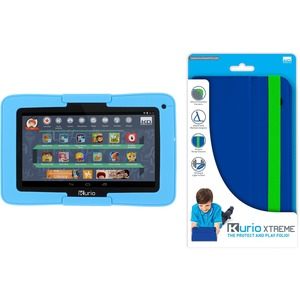 Kit Kurio Xtreme 7in Android Tab W/ Blue Bumper Blue Folio C / Mfr. No.: 96405-96431