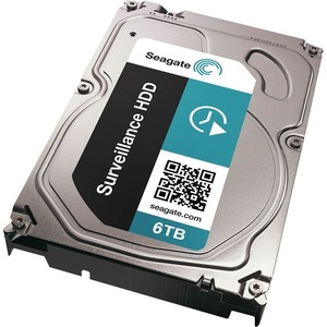 6tb Surveillance HDD SATA 7200 RPM 128mb 3.5in / Mfr. No.: St6000vx0001