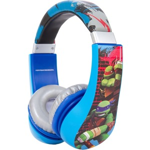 Turtles Kids Friendly Over Ear Headphone W/ Volume Limiter / Mfr. No.: 30365