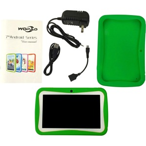 7in Android 4.4 Dual Core 4gb Dual Cam Wireless Games / Mfr. No.: Wfg-Kids7-Green