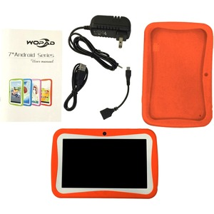 7in Android 4.4 Dual Core 4gb Dual Cam Wireless Games / Mfr. No.: Wfg-Kids7-Orange