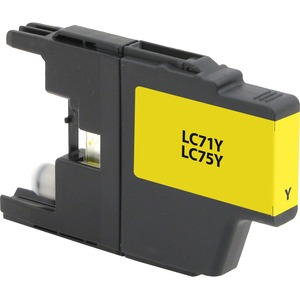 Brother Lc71y Yellow Ink Cart 600 Yield Clr Inkjet Mfcs / Mfr. No.: V7lc71y