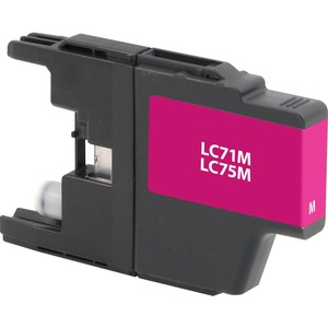 Brother Lc75m Magenta Ink 600 Yield Mfc-J6510dw Mfc-J6710 / Mfr. No.: V7lc75m