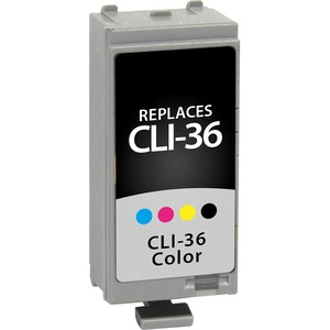 Canon Cli-36 1511b002 Color Ink 249 Yield Cli-36 Color Ink Tank / Mfr. No.: V71511b002