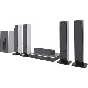 Panasonic Smart Network Blu-ray Disc Home Theater System with 3D: SC-BTT505