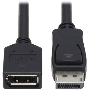 Displayport Extension Cable Latches Video Audio Hdcp M/F 6f / Mfr. No.: P579-006