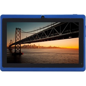 7in Android 4.4 Dual Core Blue 4gb Bluetooth Dual Camera Wireless / Mfr. No.: 7a23-4.4-Blue