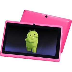 7in Android 4.4 Dual Core Pink 4gb Bluetooth Dual Camera Wireless / Mfr. No.: 7a23-4.4-Pink