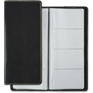 "Winnable Business Card Holder 96 Card Capacity 9-3/4x4-1/2"" Black"