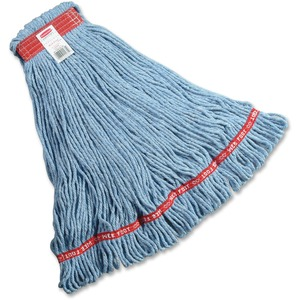 Rubbermaid® Web Foot® Wet Mop Head Large Blue