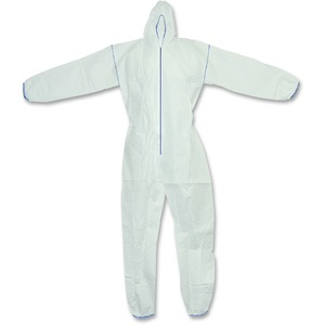 RONCO CoverMe Coveralls with Hood Medium White