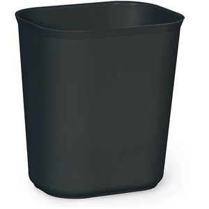 Rubbermaid® Fire Resistant Wastebasket 13.2 L Black