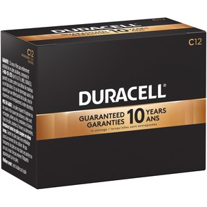 "Duracell® CopperTop® Batteries ""C"" 12/box"