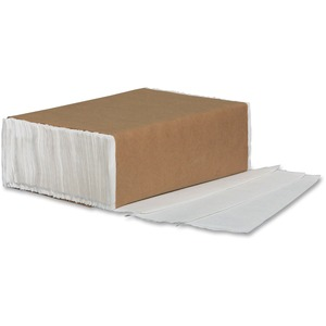 M'Brand Multi Fold Paper Towels 334 per package White 12 packages/ctn