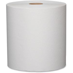 "Metro Roll Towels 7-25/32"" x 420' White 12 rolls/ctn"