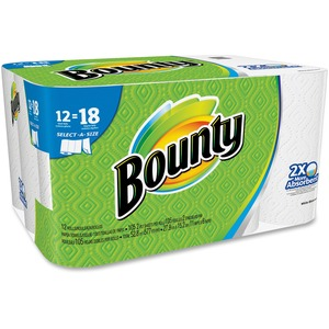 Bounty Select-a-Size Paper Towels 2-Ply 12/pkg