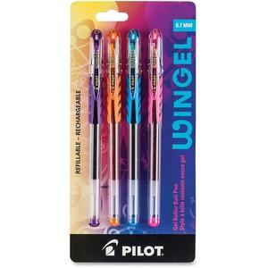Pilot® Wingel Gel Pen 0.7mm Assorted Colours 4/pkg