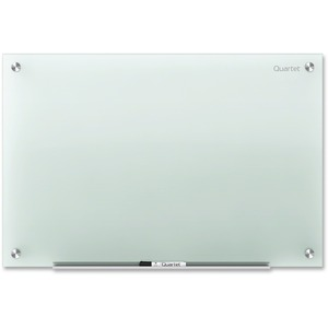"""Quartet® Infinity Dry Erase Glass Board 24"""" x 36"""" Frosted"""