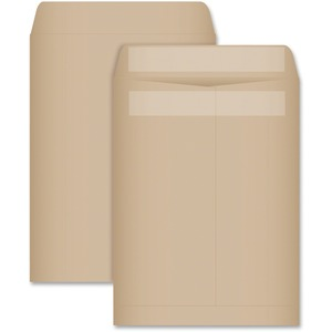 "Supremex Recycled Catalogue Envelopes 9"" x 12"" Natural Kraft 100/pkg"