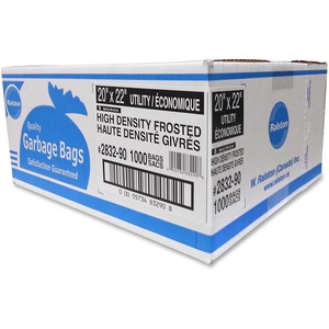 Ralston 2800 Series High Density Industrial Garbage Bags Utility Frosted 1,000/ctn