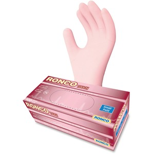 Gloves Exam Small Pink  100/box