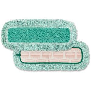"""Rubbermaid® HYGEN Dust Mop with Fringe 18"""" Green"""
