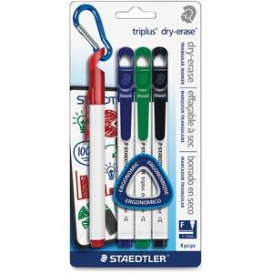 Staedtler® triplus® Dry-Erase Markers Fine Tip Assorted Colours 4/pkg