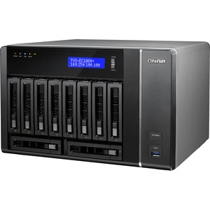 10-Bay Edge Cloud Turbo Vnas 6g SATA 32gb 10gbex2 1gbex4 / Mfr. No.: Tvsec1080+E332gus