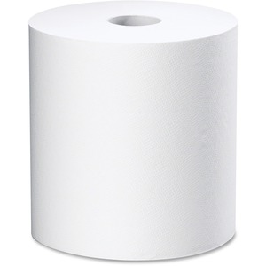 "White Swan® Roll Towels 8"" x 800' White 6 rolls/ctn"