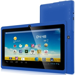7in Android 4.4 Quad Core 4gb Bluetooth Dual Camera Wireless / Mfr. No.: 7drk-Q-Blue