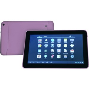 9in Android 4.4 Quad Core 8gb Bluetooth Dual Camera Wireless / Mfr. No.: 9rk-Q-Purple