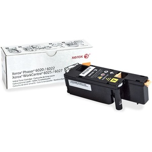 Yellow Toner Workcentre 6027 Phaser 6022 Yield 1000 / Mfr. No.: 106r02758