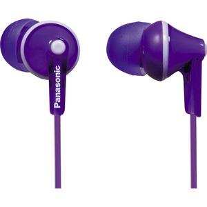 Ergofit In-Ear Violet Earphone / Mfr. No.: Rp-Hje125-V