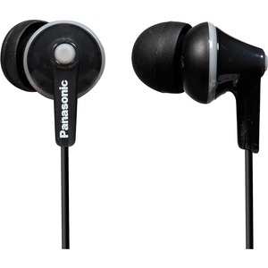 Ergofit In-Ear Black Earphone / Mfr. No.: Rp-Hje125-K
