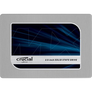 Crucial Mx200 500gb SATA 2.5 7mm With 9.5mm Adapter Internal / Mfr. No.: Ct500mx200ssd1
