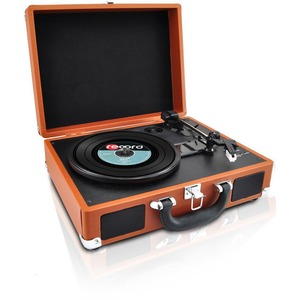 Bluetooth Classic Vinyl Record Player Turntable W/ Vinyl To Mp3 Recor / Mfr. No.: Pvttbt6br