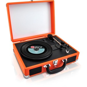 Bluetooth Classic Vinyl Record Player Turntable W/ Vinyl To Mp3 Recor / Mfr. No.: Pvttbt6or