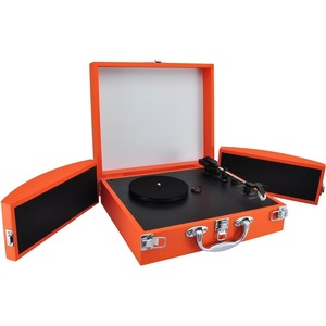 Bluetooth Classic Vinyl Record Player Turntable W/ Vinyl To Mp3 Recor / Mfr. No.: Pvttbt8or