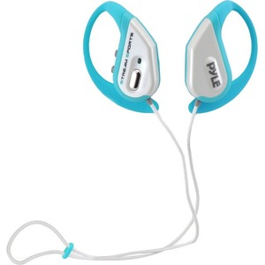 Bluetooth Water Resistant Headphones W/ Built-In Mic Blue / Mfr. No.: Pwbh18bl