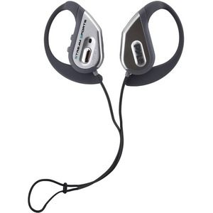 Bluetooth Water Resistant Headphones W/ Built-In Mic Silver / Mfr. No.: Pwbh18sl